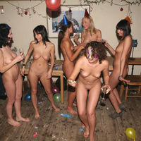 nudist birthday party